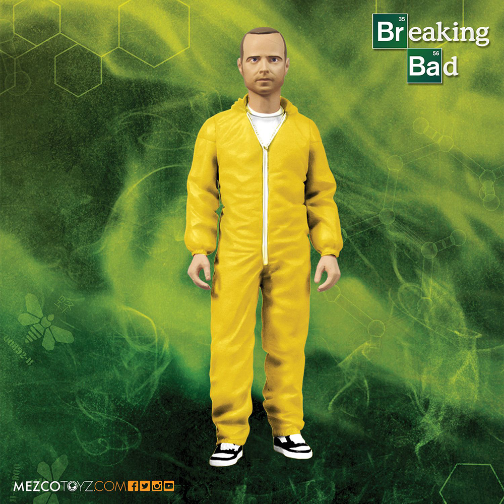 Breaking Bad Jesse Pinkman Hazmat Suit Action Figure