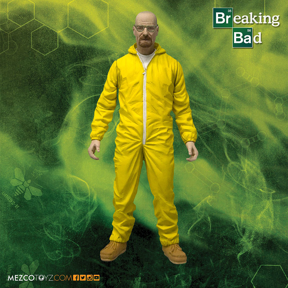 Breaking Bad Walter White Hamzat Suit Action Figure