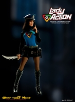 Captain Action Lady Action 1/6 Scale Collector Figure