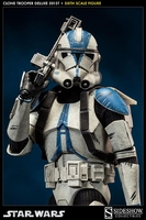 Clone Trooper Deluxe 501st Sixth Scale Figure