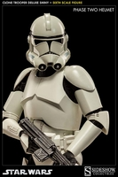Clone Trooper Deluxe Shiny Sixth Scale Figure