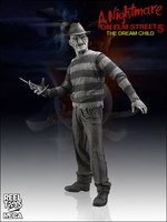 Exclusive Dream Child B&W Freddy Krueger Action Figure