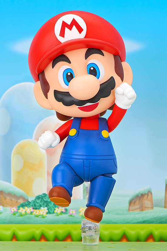 Good Smile Company Super Mario Bros. Mario Nendoroid Figure