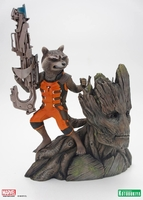 Guardians of the Galaxy Rocket Racoon & Groot ARTFX+ Statue