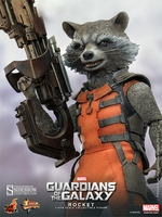 Hot Toys Guardians of the Galaxy Rocket 1/6 Scale Figure