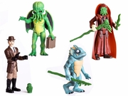 H.P. Lovecraft Legends of Cthulhu Set of 4 Action Figures
