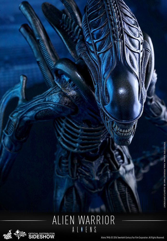 Hot Toys Alien Warrior 1/6 Scale Figure