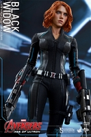 Hot Toys Avengers: Age of Ultron Black Widow 1/6 Scale Figure