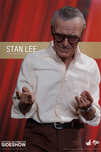 Hot Toys Stan Lee 1/6 Scale Figure