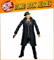 """Indie Spotlight Series 2 The Blank """"Dick Tracy"""" Exclusive Action Figure"""
