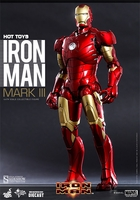 Iron Man Mark III DIECAST 1/6 Scale Figure