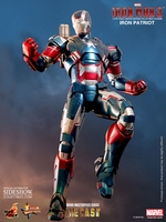 Iron Patriot DIECAST Sixth Scale Figure
