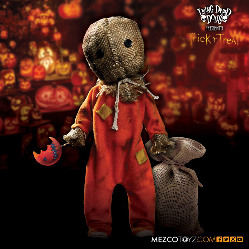 Living Dead Dolls Presents Trick 'r Treat Sam