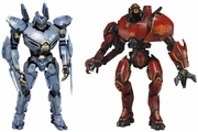 Pacific Rim Striker Eureka and Crimson Typhoon Jaeger Figures