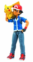 Pokemon Trainer Ash & Pikachu Action Figure