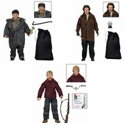 Retro Home Alone Clothed Action Figure Set of 3