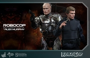 RoboCop (Battle Damaged Version) and Alex Murphy 1/6 Scale Figures