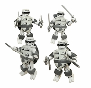 SDCC 2015 Black & White TMNT Minimates Mirage Box Set