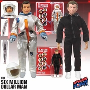 Six Million Dollar Man Steve Austin & Barney Action Figures