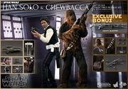 Star Wars Han Solo and Chewbacca 1/6 Scale Figures