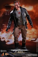T-800 Battle Damaged Version Sixth Scale Figure