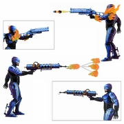 Terminator vs Robocop Flamethrower & Fire-Damaged Series 2