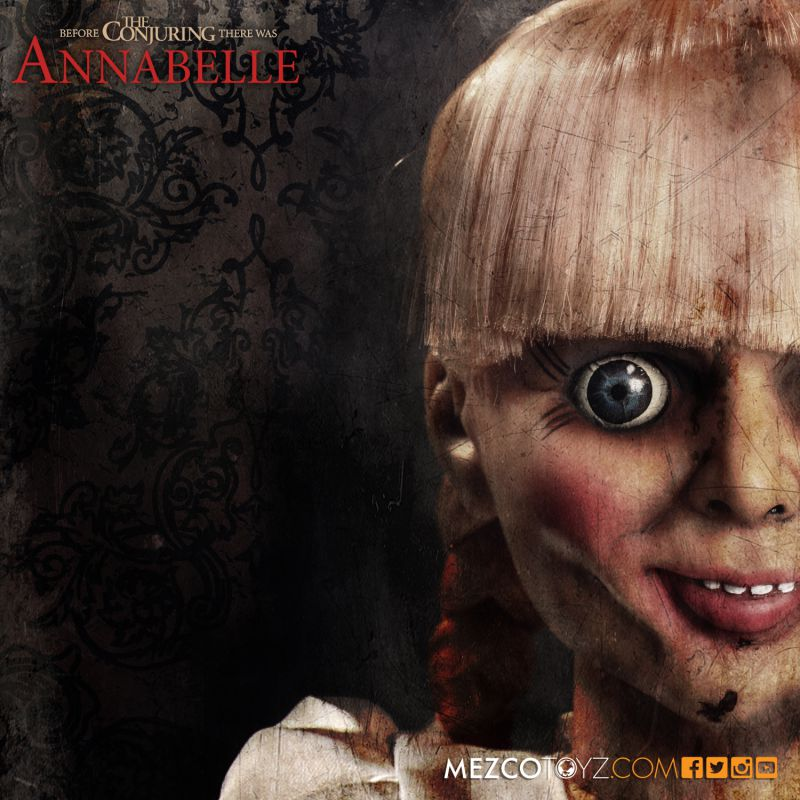 The Conjuring Annabelle Prop Replica Doll
