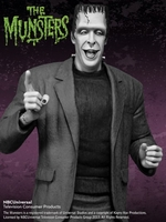 The Munsters Herman Munster Black & White Maquette
