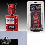The Twilight Zone Red Mystic Seer Monitor Mate Bobble Head