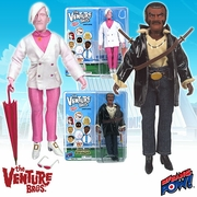 The Venture Bros. Pete White and Jefferson Twilight Action Figures