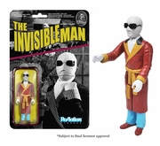 Universal Monsters Invisible Man ReAction Figure