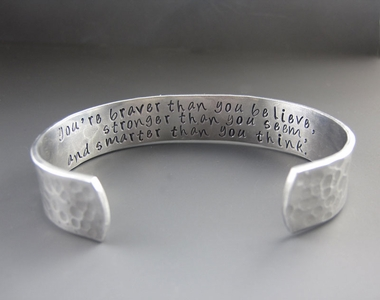 Christopher Robin Inspirational Bracelet