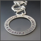 Hand Stamped Personalized Necklaces