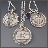 Sterling Silver Inspirational  Necklaces