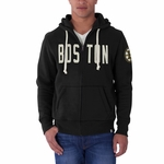 Bruins Cross-Check Mens Full Zip Hood