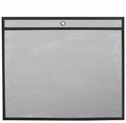 "25 Job Jackets/Envelopes<br> 11"" x 8.5"" (Clear Front/Rigid Back)"