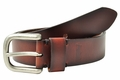 Levi's Brown Harness Leather Jeans Belt