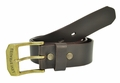 Levi's Genuine Leather Brown Bridle Leather Belt w/Brass Buckle