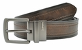 Levi's Distressed Genuine Leather Reversible Black or Brown Belt