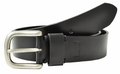 Levi's Black Bridle Leather Jeans Belt