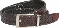Nike Braided G-Flex Reversible Black/Brown Leather Belt