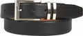 Nike Premium Pin Dot Embossed Black Leather Belt