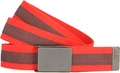Nike Rubber Inlay Light Crimson Web Belt