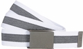 Nike Rubber Inlay White Web Belt