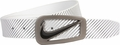 NIke Signature Swoosh Black/White Reversible Belt