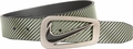 NIke Signature Swoosh Venom Green / Black Reversible Belt