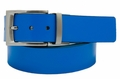 PGA TOUR Reversible Leather Belt - Blue/White