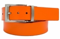 PGA TOUR Reversible Leather Belt - Orange/White