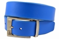 PGA TOUR Reversible Leather Golf Belt - Blue / White