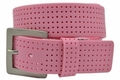 PGA TOUR Silicone Perforated Golf Belt - Pink | 3301500-650